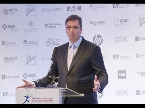 Business Luncheon with Vucic