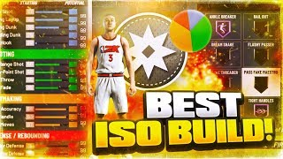 I FOUND THE BEST ISO DRIBBLE G0D BUILD IN NBA 2K20 - GLITCHIEST PURE PLAYMAKER BUILD EVER