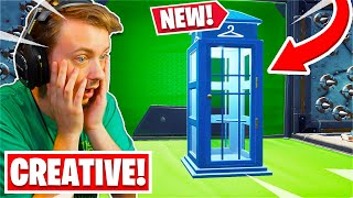 Everything in the NEW Fortnite Creative Update! (You can Change Skins!)