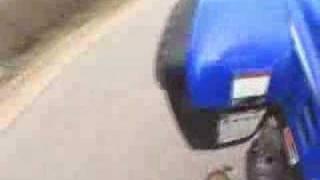 7. Yamaha Warrior Wheelie Shift