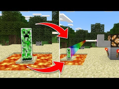 How to Build a SHRINK RAY MACHINE in Minecraft Pocket Edition