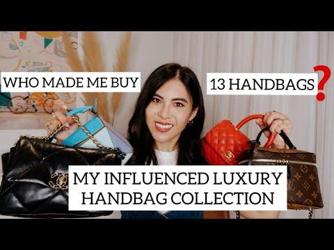 MY INFLUENCED LUXURY HANDBAG COLLECTION- WHO MADE ME BUY 13 BAGS? видео
