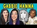 TEENS REACT TO GABBIE HANNA (THE GABBIE SHOW)