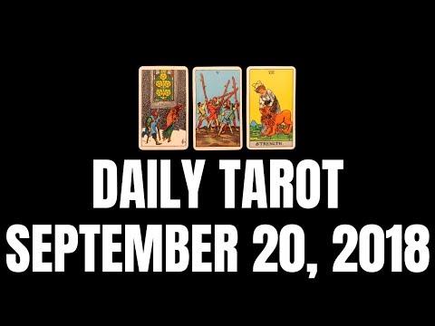 Daily Tarot Reading for September 20, 2018 | Magnetic Tarot (видео)