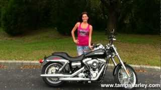 9. New 2013 Harley-Davidson FXDC Dyna Super Glide Custom in Vivid Black for Sale