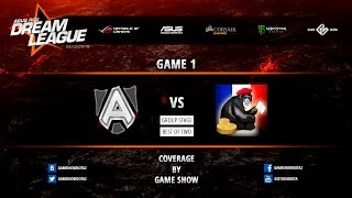 Alliance vs MFF, game 1