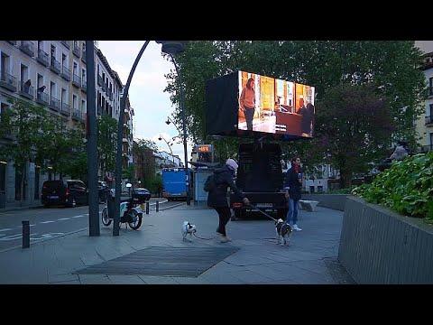 Κινούμενος κινηματογράφος στη Μαδρίτη