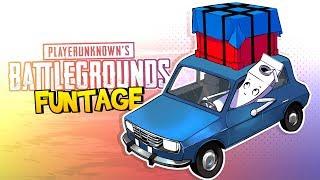 PUBG FUNTAGE! - Airdrop Crate BANDIT & More!
