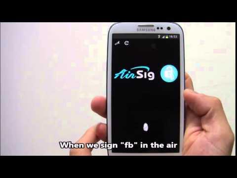 Video of AirSig Unlock