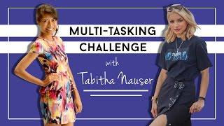 Video Multi-tasking Challenge with Tabitha Nauser MP3, 3GP, MP4, WEBM, AVI, FLV Agustus 2018