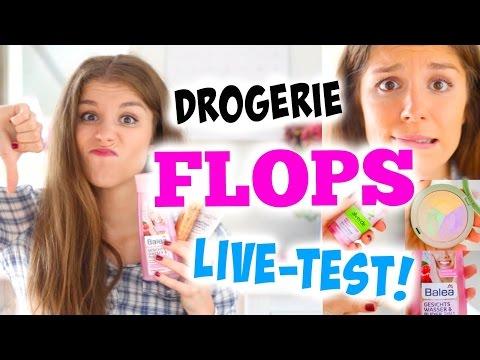 DROGERIE FLOP PRODUKTE im LIVE TEST - VORSICHT BEIM NACHKAUFEN! BarbieLovesLipsticks