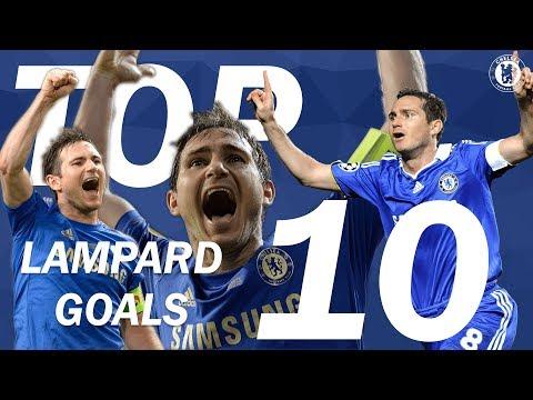 TOP 10: Frank Lampard Goals   Chelsea Tops