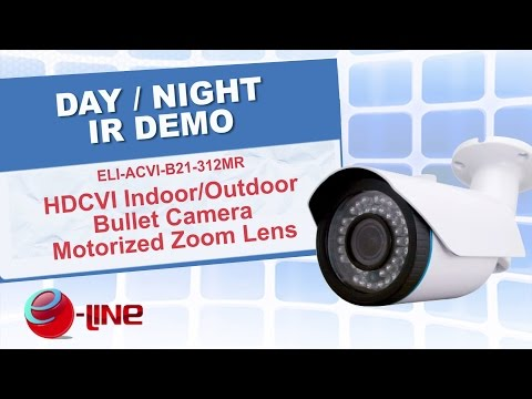 Motorized 1080p Camera Night IR Demo