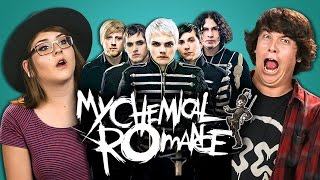 Video College Kids React to My Chemical Romance (MCR X) MP3, 3GP, MP4, WEBM, AVI, FLV Oktober 2018