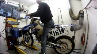 10. YZ125 dyno @ Projex Motorcycle Engineering 01384 633759