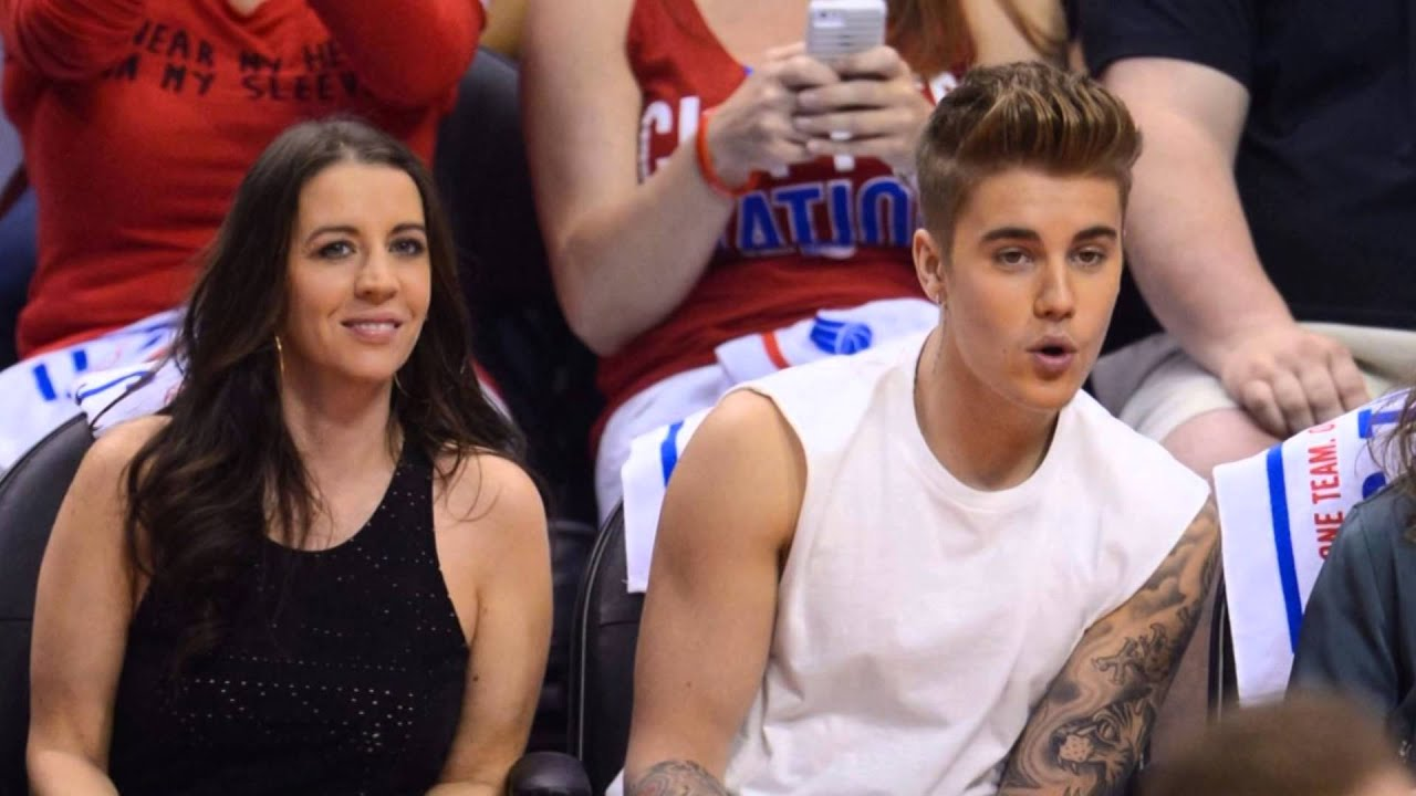 Justin Bieber & Pattie Mallette at Thunder vs Clippers playoff game in LA – May 11, 2014