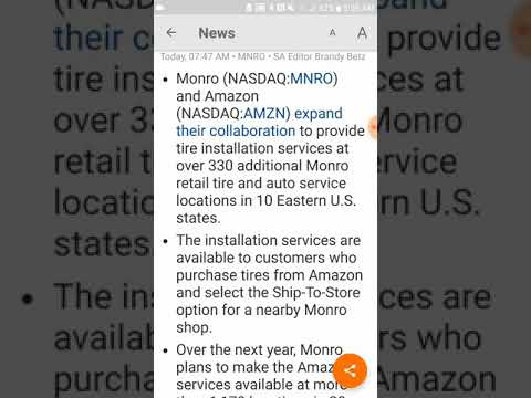 Amazon partners with Monro for revenue