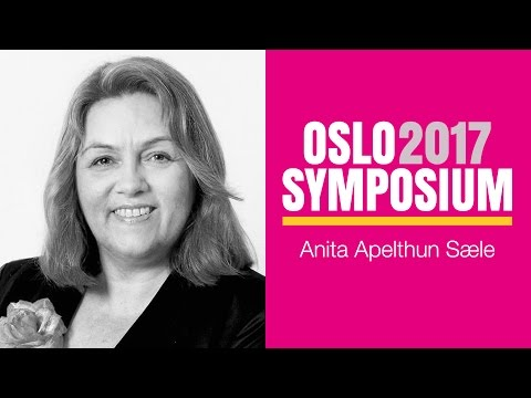 Anita Apelthun Sæles tale på Oslo Symposium 2017