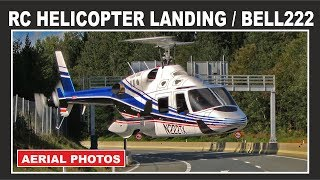 RC Helicopter Landing On Highway / MUST SEE!!! INCREDIBLE