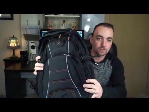 AmazonBasics Laptop Backpack Unboxing/Review