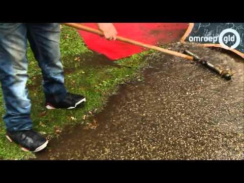 Orkaan Bertha zorgt voor veel schade in Nederland