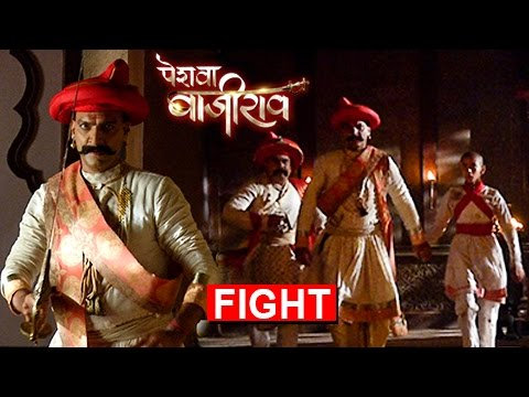 Bajirao and Balaji FIGHT | Mughals ATTACK On Gudi