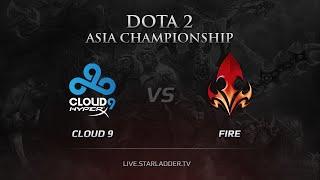 Cloud9 vs Fire, game 4