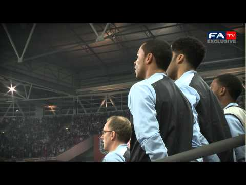 England 2-3 Holland - FATV exclusive Tunnelcam 29/2/12