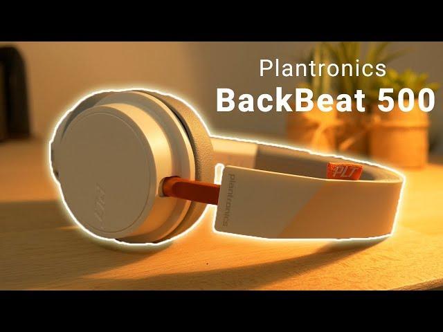 סקירה אוזניות פלנטרוניקס Plantronics BackBeat 500