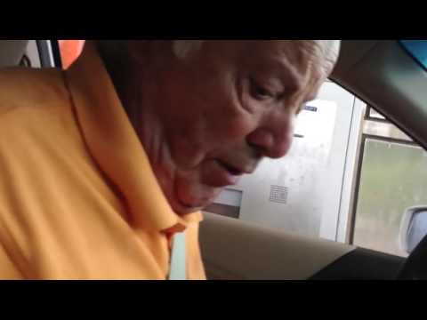 This grandpa struggling to pay a tollbooth is the greatest thing I've ever seen!