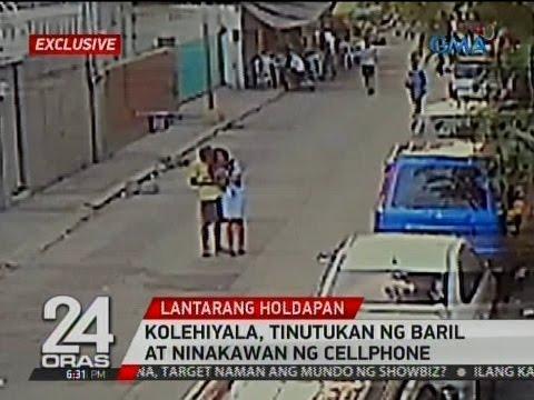 Exclusive: Kolehiyala, tinutukan ng baril at ninakawan ng cellphone