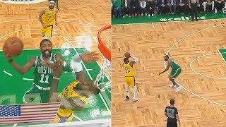 Kyrie Irving Shows LeBron James He Can't Be Guarded Then LeBron Shocks With Craziest Deep Shot!