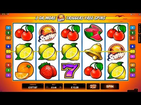 SunTide online slot game [GoWild Casino]