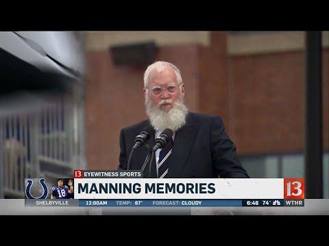 David Letterman speech