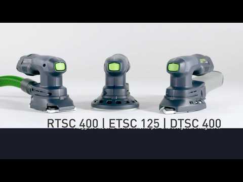 Levigatrici compatte a batteria | RTSC 400 | ETSC 125 | DTSC 400