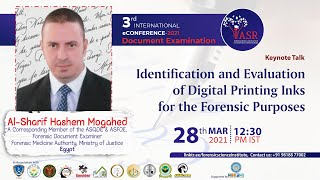 Identification & Evaluation of Digital Printing Inks for Forensic Purposes