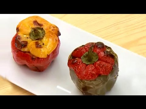 Bell Peppers Stuffed with Barley 31 October 2014 05 PM