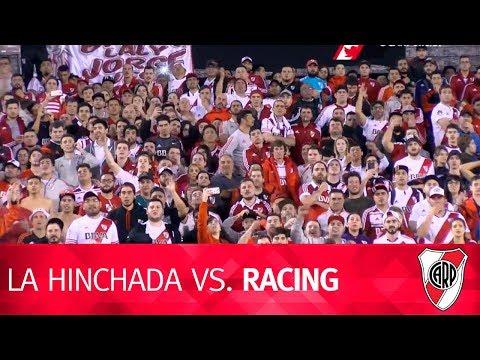La hinchada vs. Racing