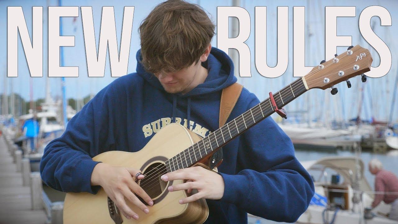 New Rules – Dua Lipa – Fingerstyle Guitar Cover