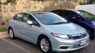 2012 Honda Civic EX-L Long-Term Review, Start Up&Rev, Extended Test Drive