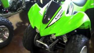 10. Kawasaki KFX 90 Quad - 2011 kfx 90 Walkaround Review