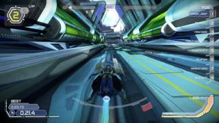 WipEout Omega Collection - Talon's Junction reverse  Pure racing