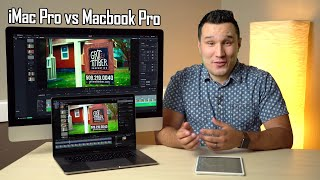 iMac Pro vs i9 Vega 20 MacBook Pro - Ultimate Video Editing Comparison!