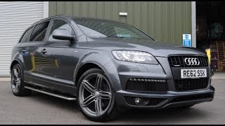 2015 Audi Q7 S Line 3.0T Quattro Tiptronic Full Review / Exhaust/ Start Up