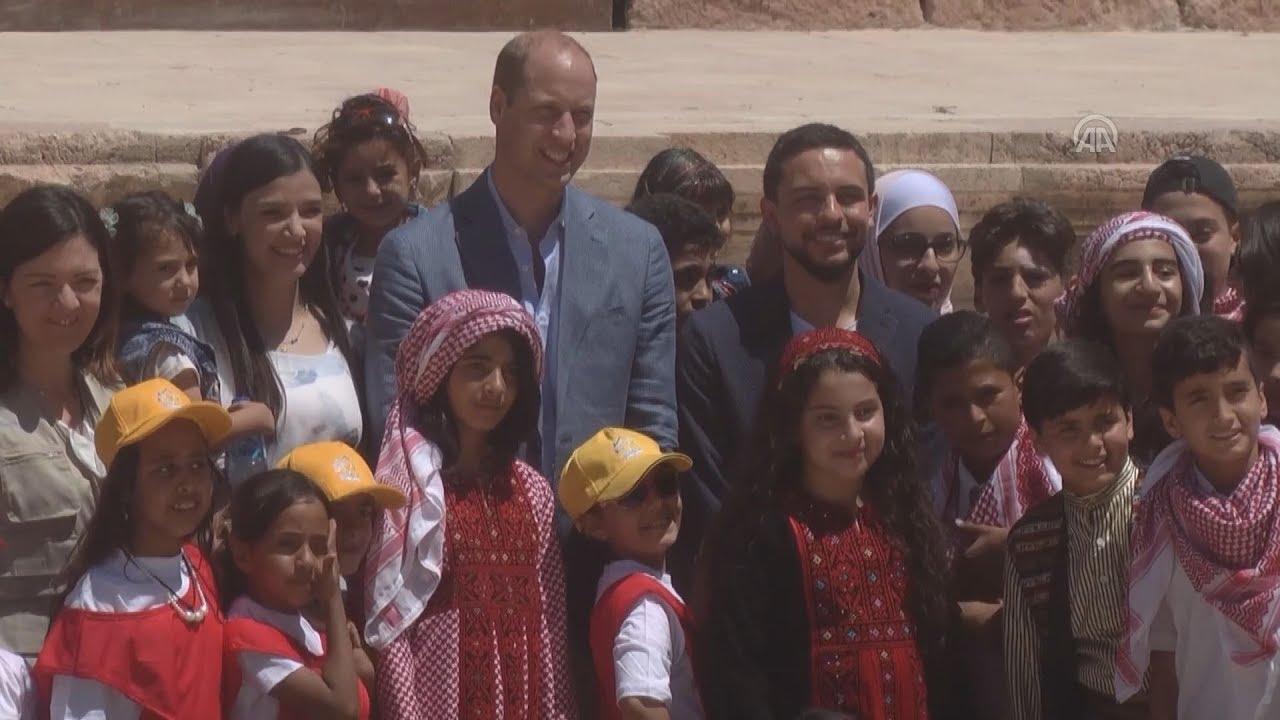 Στη Μέση Ανατολή ο πρίγκιπας Ουίλιαμ – Πρώτος σταθμός, Ιορδανία