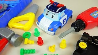 Video Fix Robocar Poli and TOBOT car toys and Kinder Joy Surprise eggs toys MP3, 3GP, MP4, WEBM, AVI, FLV Desember 2017