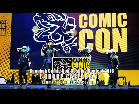 Bangkok Comic Con 2016 Cosplay Contest – Team 11 | Uta no Prince-sama