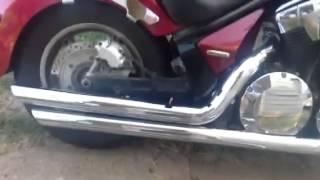 10. Install cobra speedster exhaust on 2010 Honda Stateline