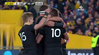 Australia v New Zealand Rugby Championship Round 1 2017 Video Highlights