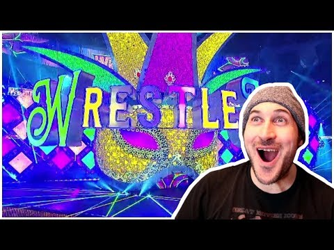 Reaction | WWE WRESTLEMANIA 34 SET / STAGE REVEAL!!! | Mercedes-benz Superdome New Orleans